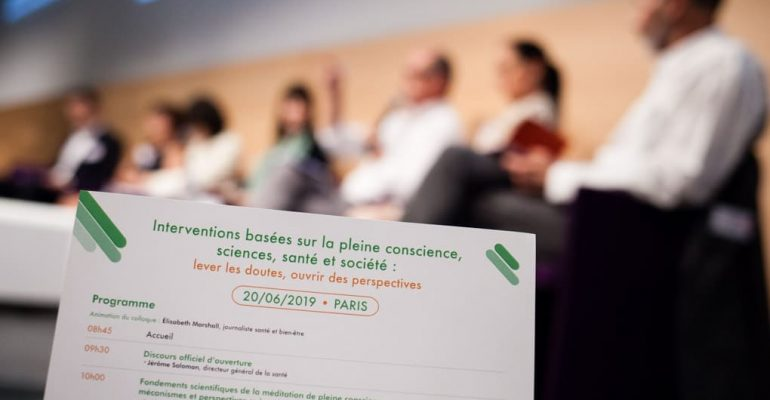 Colloque Interventions Basees Sur La Pleine Conscience, Sciences, Sante Et Societe